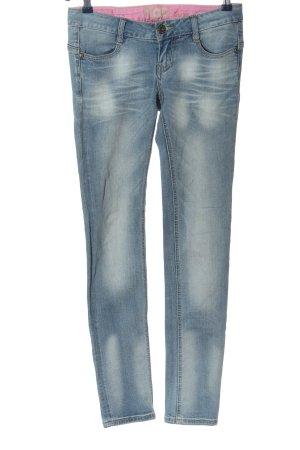 MOD Jeans taille basse bleu style décontracté