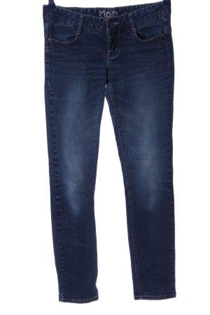 MOD Jeans cigarette bleu style décontracté