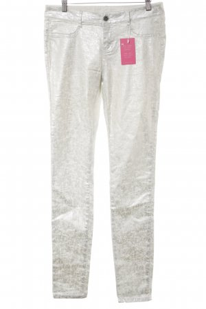 MOD Tube Jeans silver-colored-natural white extravagant style