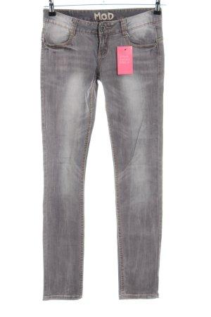 MOD Skinny Jeans hellgrau Casual-Look