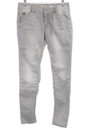 MOD Slim Jeans hellgrau Casual-Look