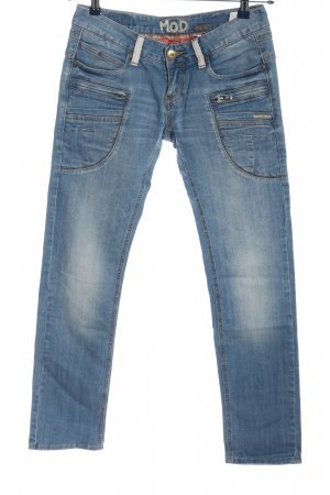 MOD Straight-Leg Jeans blau Casual-Look