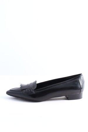 Moda Di Fausto Mokassins schwarz Casual-Look