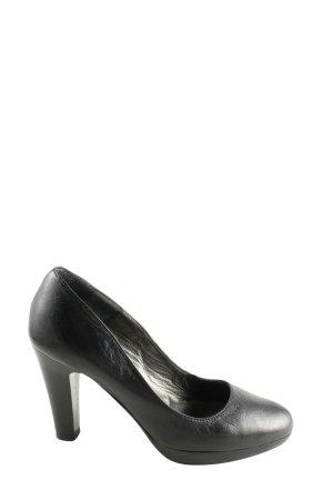 Moda Di Fausto High Heels schwarz Business-Look