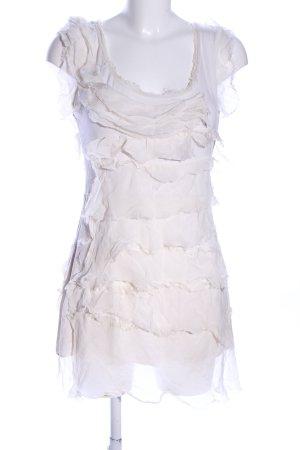 Moda Fashion Jerseykleid weiß Casual-Look