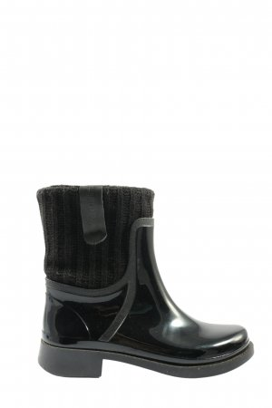 Moda Italiana Wellies black casual look