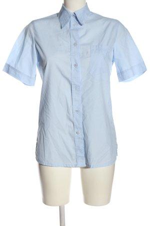 Moda Vilona Camicia a maniche corte blu stile professionale