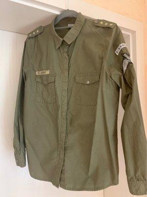Saint Tropez Blusa-camisa caqui
