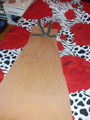 Faith Maxi Dress bronze-colored