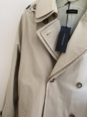 Strenesse Gabriele Strehle Trench Coat cream cotton