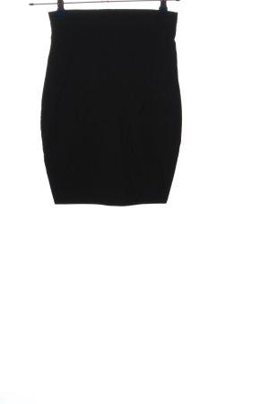 Mode de Paris Minirock schwarz Casual-Look