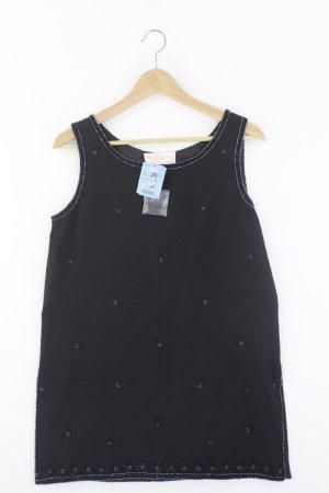 Mode Exclusive Mehra Ärmellose Bluse Größe M neu mit Etikett mit Pailletten schwarz