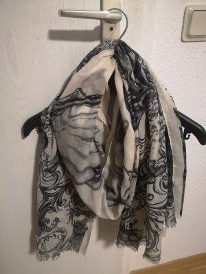 Bijou Brigitte Chal veraniego negro-crema