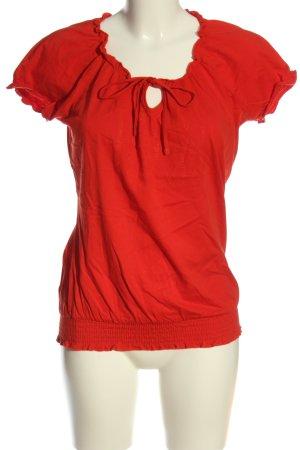 Modern women by Tschibo Schlupf-Bluse rot Casual-Look