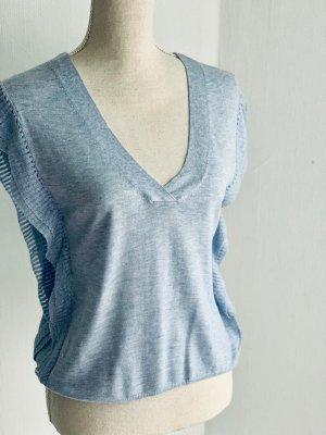 Moderne ärmellose T-Shirt von Mango. Größe 36
