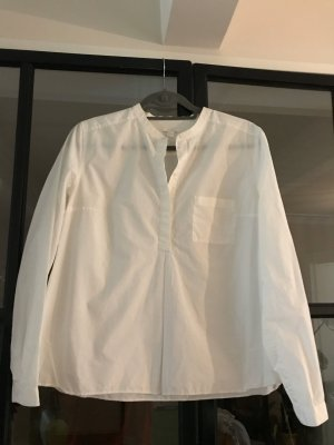 COS Long Sleeve Blouse white