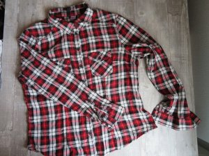 H&M Divided Checked Blouse multicolored cotton