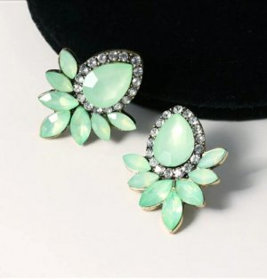 Statement Ring lime-green