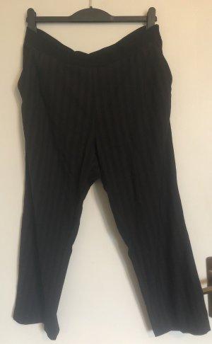 Moderne gestreifte Anzugshose von H&M in Größe 46