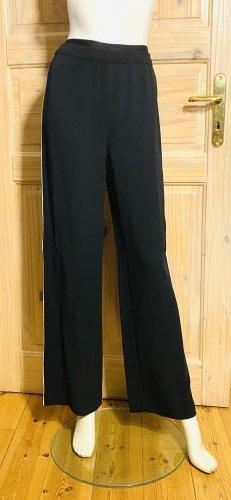 Karl Lagerfeld Jersey Pants black-white