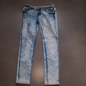 Moderne Jeanshose  Gr 38 stone wash