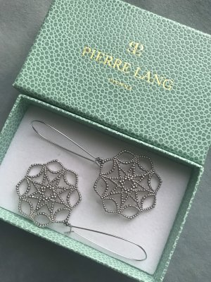 Pierre Lang Pendientes colgante color plata