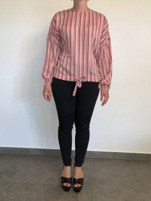 Moderne Shirtbluse von Vero Moda Gr. XS rosa