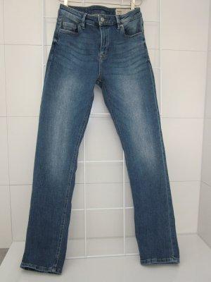 Moderne Straight Jeans, Taille Haute, W27 L 32/ESPRIT, NEU