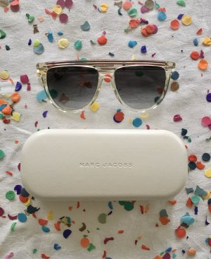 Marc Jacobs Occhiale stile retro bianco