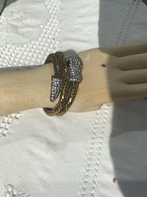 Modern vintage Bracelet de bras argenté-doré