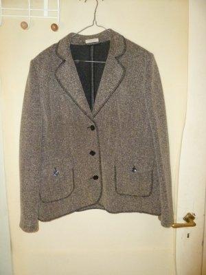 Christian Berg Tweed blazer bruin-licht beige