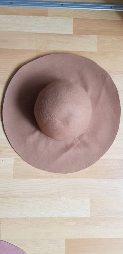 H&M Chapeau en feutre beige clair-beige