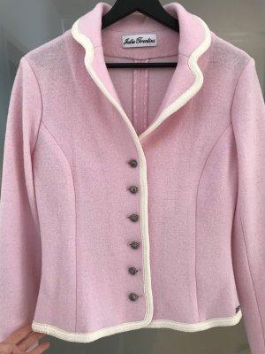 Julia Trentini Blazer en laine multicolore