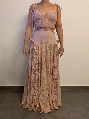 Modernes Chiffonkleid von True Decadence Gr M pink