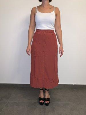 Vero Moda Asymetryczna spódniczka różowy-magenta