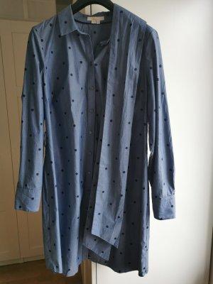 Boden Koszulowa sukienka niebieski