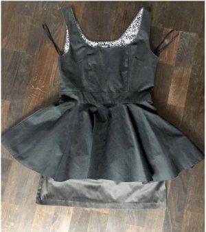 Modernes, Hübsches A-Linie schößchen Dress , / Hochwertiges Kleid von Los Angeles Designer Teal F. gr. M Medium, feminin, slimming & schmeichelhafte Passform! Volant & Tüll unter Rock. Blogger-Stil, Schick, Edel, Sexy, einzigartig, hochwertig! NP 95€