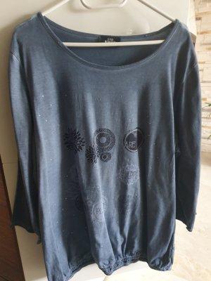 Modernes Shirt mit Galonstreifen Gr48/50