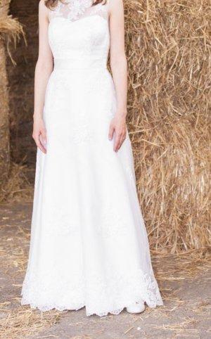 Modernes Vintage Hochzeitskleid in XS/Größe