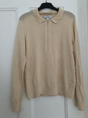 Modernes Zipper-Shirt von &OtherStories Beige
