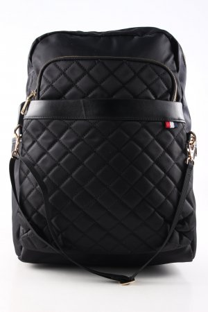 Notebookrucksack schwarz Steppmuster Business-Look