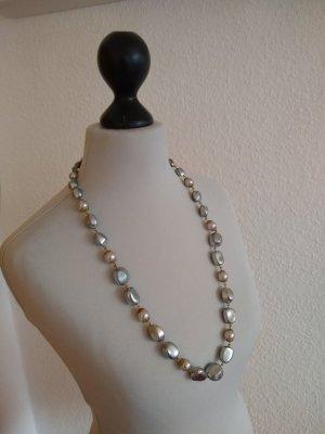 Modeschmuck - grau - Perlen