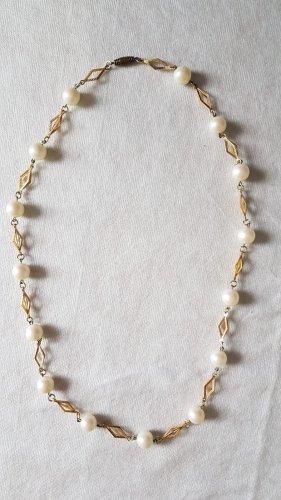 Collana oro-bianco