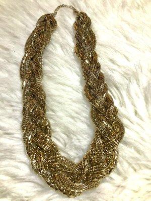 Modeschmuck Kette Gold