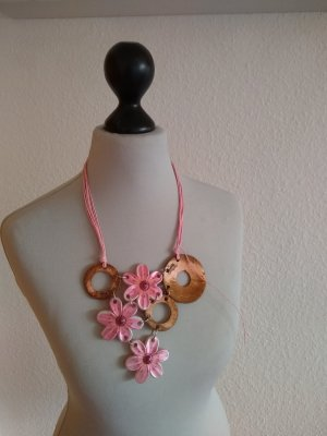 Modeschmuck - Kette - rosa