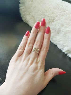 Modeschmuck Ring in gold