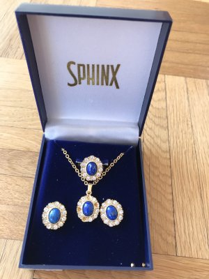 SPHINX COUTURE Necklace gold-colored-dark blue