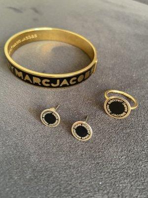 Marc by Marc Jacobs Jonc noir-doré métal