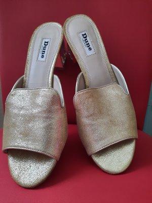 DUNE LONDON Outdoor sandalen goud