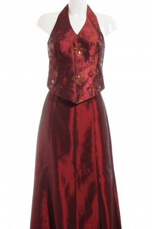 Modeszene Tailleur rouge élégant